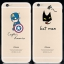 เคสยาง การ์ตูนกวนๆ พื้นหลังใส - เคส iPhone 6 Plus / 6S Plus thumbnail 1