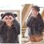 Pre-Order แจ๊คเก็ตฮู้ดหมีขนนุ่ม สีเทา บุผ้าฝ้ายด้านใน thumbnail 13