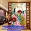 แจกันดอกไม้ ภาพติดเพชร ครอสติชคริสตรัล โมเสก Diamond painting thumbnail 17