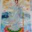 ปลาคราฟมงคล ดอกเหมย ภาพติดเพชร ครอสติชคริสตรัล โมเสก Diamond painting thumbnail 9