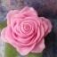 เทียนหอมดอกกุหลาบสีชมพูพร้อมใบ thumbnail 3