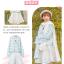 Pre-Order กระโปรงสั้นผ้าWool สีขาว ปักลายเถาวัลย์ thumbnail 5
