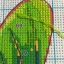ดอกไม้สีทอง+นก ชุดปักครอสติช พิมพ์ลาย งานฝีมือ thumbnail 2