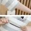 ชุดเซ็ทเสื้อเปิดให้นม+กระโปรงคลุมท้อง แนวเรียบร้อย ผ้ายืดเนื้อดี สีดำ สำเนา thumbnail 4