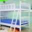 เตียงไม้ยางพารา 2 ชั้น ขนาด 3.5 ฟุต