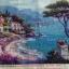 วิวหุบเขา ภาพติดเพชร ครอสติชคริสตรัล โมเสก Diamond painting thumbnail 7