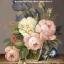 ดอกกุหลาบ ภาพติดเพชร thumbnail 1