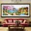 บ้านริมธาร ครอสติสคริสตัล Diamond painting ภาพติดเพชร งานฝีมือ DIY thumbnail 2