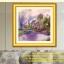 นกยูงม่วง ครอสติสคริสตัล Diamond painting ภาพติดเพชร DIY thumbnail 12
