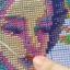 นาฬิกาดอกไม้ ชุดปักครอสติช พิมพ์ลาย งานฝีมือ thumbnail 2