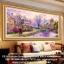 หมู้บ้านริมธาร ครอสติสคริสตัล Diamond painting ภาพติดเพชร งานฝีมือ DIY thumbnail 2