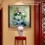 นกยูง ชุดปักครอสติช พิมพ์ลาย งานฝีมือ thumbnail 14