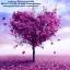 ต้นไม้สีม่วง ภาพติดเพชร Diamond painting thumbnail 1