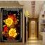 ดอกไม้สีทอง ชุดปักครอสติช พิมพ์ลาย งานฝีมือ thumbnail 1