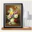 แจกันดอกไม้ ภาพติดเพชร ครอสติชคริสตรัล โมเสก Diamond painting thumbnail 3