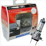 หลอดไฟอัพเกรด H7 Philips X-tream Vision 100%