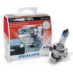 หลอดไฟอัพเกรด H4 Philips X-tream Vision 100%