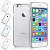 เคสแข็ง ใส ขอบสี เมทัลลิค - เคส iPhone 6 / 6S