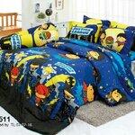 ชุดเครื่องนอน ผ้าปูที่นอน ลายจัสติซ แบทแมน รหัส SL511