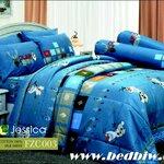 ชุดเครื่องนอน ผ้าปูที่นอน JESSICA Cotton 100% ลายเจ้าหญิง FZC003