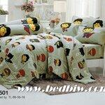 ชุดเครื่องนอน ผ้าปูที่นอน ลายจัสติซ แบทแมน รหัส SL501