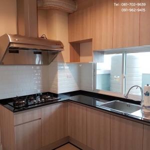 Modern Wooden Kitchen (ชุดครัวบิ้วอินหน้าบานลายไม้สไตล์โมเดิร์น)