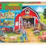 จิ๊กซอว์ไม้เเบรนด์ Shure ลายCountry Farm