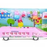 รถบัส + ครอบครัว Happy Pig Family