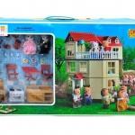 บ้านตุ๊กตากระต่าย 3 ชั้น Happy Family