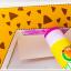 Joan Miro 3D paper Model ลายรถ thumbnail 2