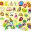 ของเล่นไม้ชุดกระดานจิ๊กซอว์รูปภาพสอน A-Z คำศัพท์ เเละตัวเลข thumbnail 2