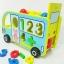 รถบัสล้อเเล่นได้จริง พร้อมค้อนทุบเเละบอล 3 สี เเละหยอดบล็อกเลข 1-9 ตัวนี้ thumbnail 5