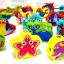 ของเล่นเสริมพัฒนาการ ของเล่นไม้ ของเล่น 3 in 1 จับคู่ ร้อยเชือก ตกปลา สัตว์ทะเล ฝึกสมาธิ thumbnail 4