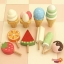 ของเล่นเสริมพัฒนาการ ของเล่นไม้ Mother Garden ชุดไอศครีมพร้อมขาตั้ง thumbnail 4