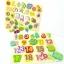 ของเล่นไม้ชุดกระดานจิ๊กซอว์รูปภาพสอน A-Z คำศัพท์ เเละตัวเลข thumbnail 1