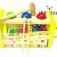 กล่องลูกบอลค้อนทุบ + ระนาด (พร้อมช่องเก็บระนาดไม้) thumbnail 2