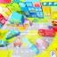 ของเล่นเสริมพัฒนาการ ของเล่น ของเล่นไม้ชุดบล็อคไม้สร้างเมือง 100 ชิ้นในถังบล็อคหยอด thumbnail 5
