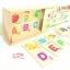 เเผ่นไม้จับคู่ตัวอักษรเเละคำศัพท์ (Alphabet Learning Box) thumbnail 2
