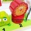 ของเล่นเสริมพัฒนาการ ของเล่น ของเล่นไม้ชุดสวมเสารูปสัตว์ thumbnail 2