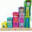ของเล่นเสริมพัฒนาการ ของเล่นไม้ ของเล่นชุดสวมเสา Happy Whole Family thumbnail 1