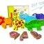 ของเล่นเสริมพัฒนาการ ของเล่นไม้จิ๊กซอเเม่เหล็กสัตว์ป่า 6 ชนิด 18 ชิ้นพร้อมกล่องไม้ thumbnail 1