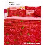 ผ้าปูที่นอนราคาถูก toto ลายสวย ลายดอกไม้ TT427