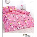 toto ชุดเครื่องนอน ผ้าปูที่นอนลายเด็กผู้หญิงเทรนด์ดี้น่ารัก TT489