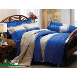 ชุดเครื่องนอน ผ้าปูที่นอน JESSICA รุ่น J205