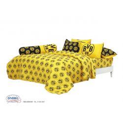 ชุดเครื่องนอน ทิวลิป ผ้าปูที่นอน ลายทีม ดอร์ทมุนด์ DM001