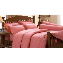 ชุดเครื่องนอน ชุดผ้าปูที่นอน สีพื้น ยี่ห้อ jessica เจสสิก้า สีโอรส Old Rose