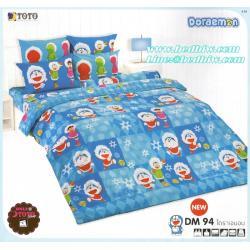 ขุดเครื่องนอน ผ้าปูที่นอน ลายโดเรม่อน DM94