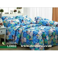 ชุดเครื่องนอน ผ้าปูที่นอน Jessica ลายการ์ตูน ซูมซูม รหัส LD002