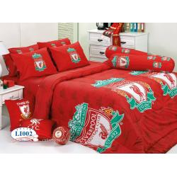 ชุดเครื่องนอน ทิวลิป ผ้าปูที่นอน ลายทีม ลายลายลิเวอร์พูล Li002