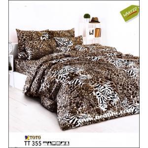 ชุดเครื่องนอน ผ้าปูที่นอน ลายเสือ TT355